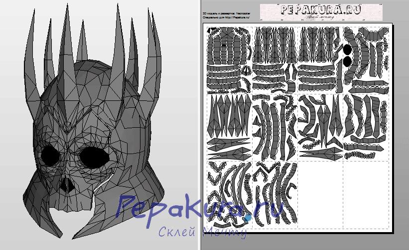 Eredin-Helmet-pdo-papercraft-template