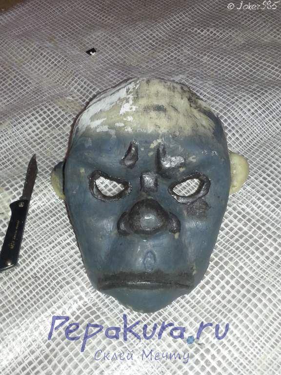Грунтовка маски и рельеф