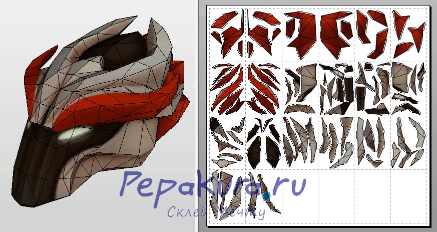 Juggernaut helmet dota 2 template