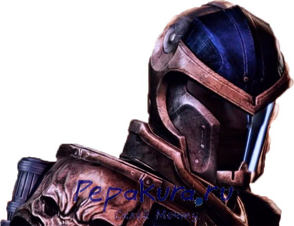 Mass Effect 3 Reckoner Knight helmet