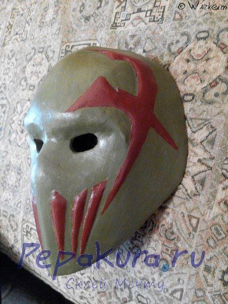 Наращиваем рельеф на маске