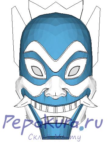 Сделать Синюю маску своими руками