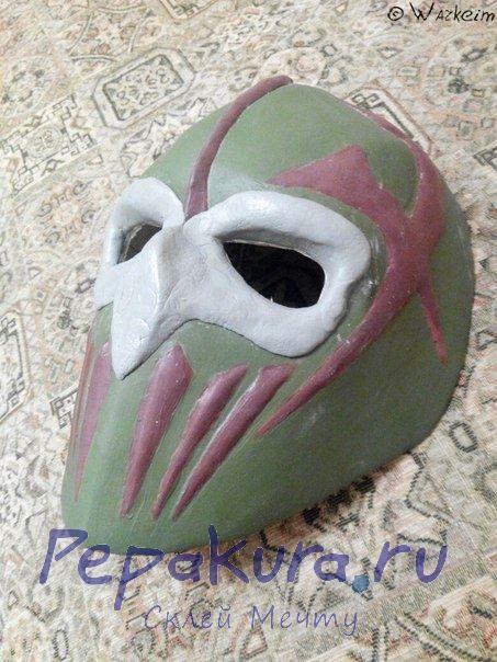 Сделать хоккейную маску