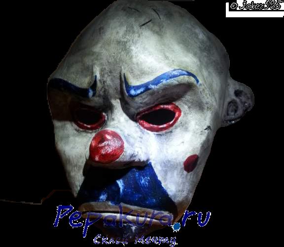 Сделать маску Джокера своими руками