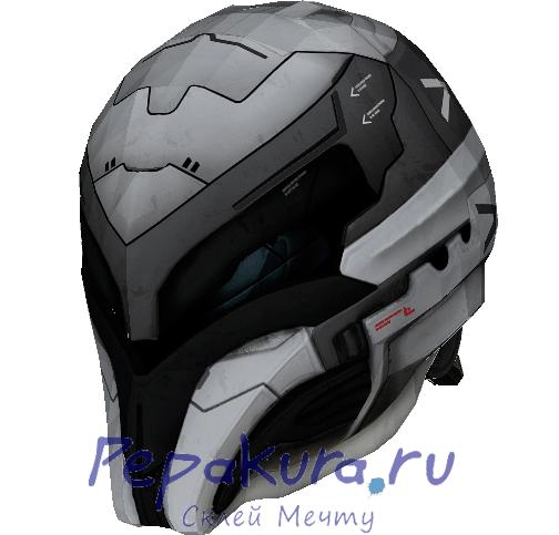 Сделать шлем V7 своими руками