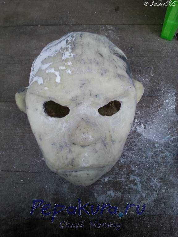 Зашкуривание маски Джокера