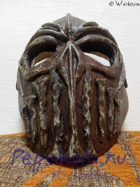 готовый вариант хоккейной маски