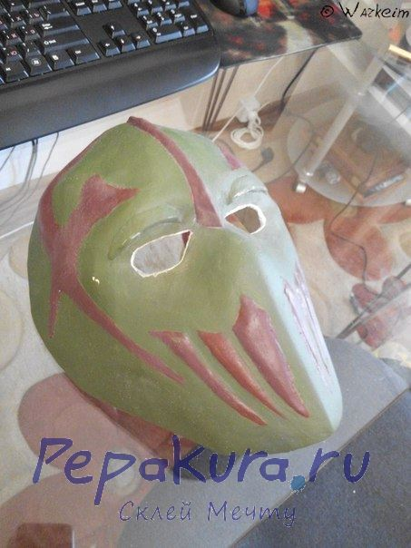 hockey mask DIY