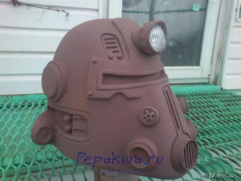как сделать шлем T51b Fallout