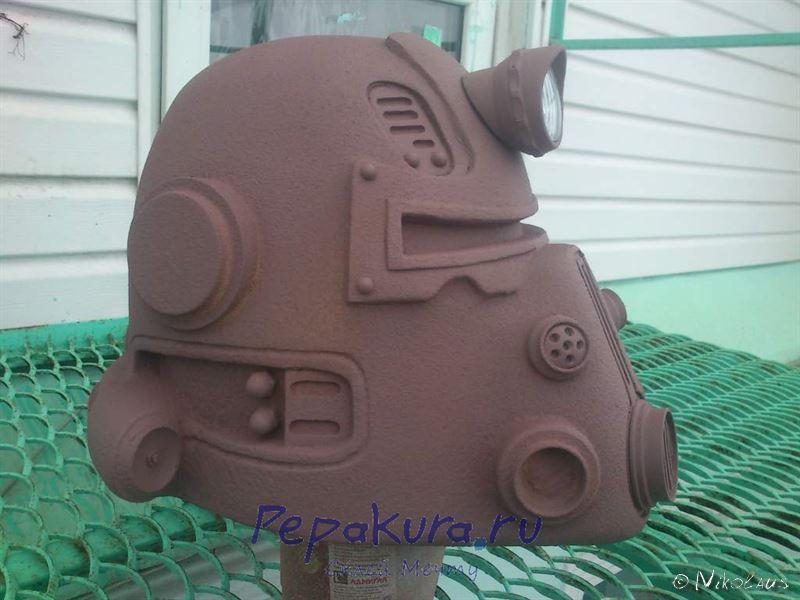шлем T51b Fallout своими руками