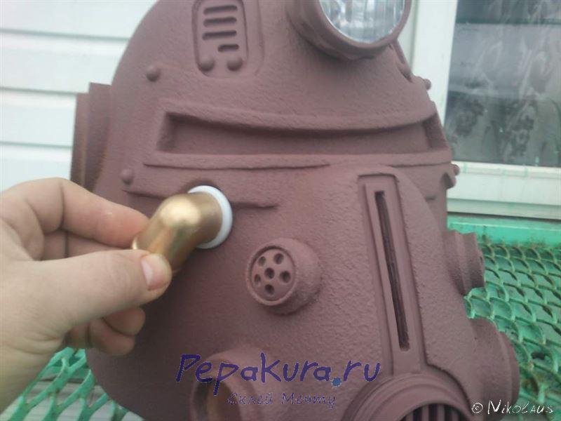 шлем T51b Fallout загрунтованный