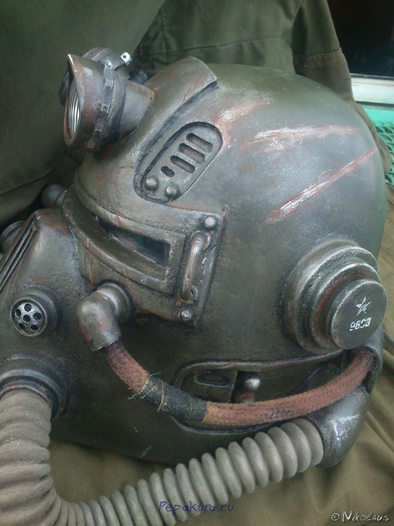 шлем T51b покраска