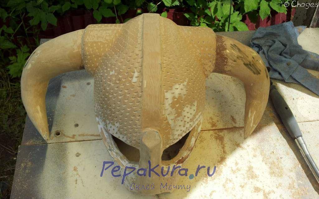 Декоративные засечки шлем Довакина