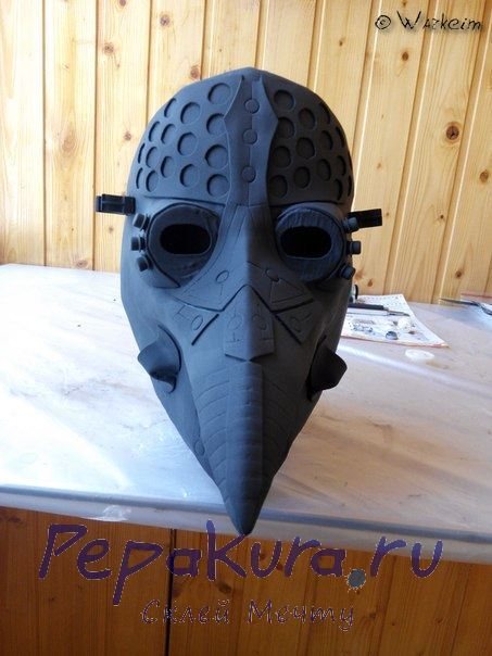 Доводка маски чумного доктора 2
