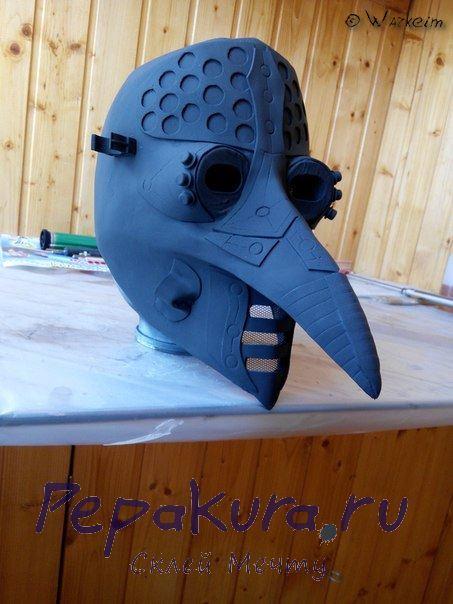 Доводка маски чумного доктора
