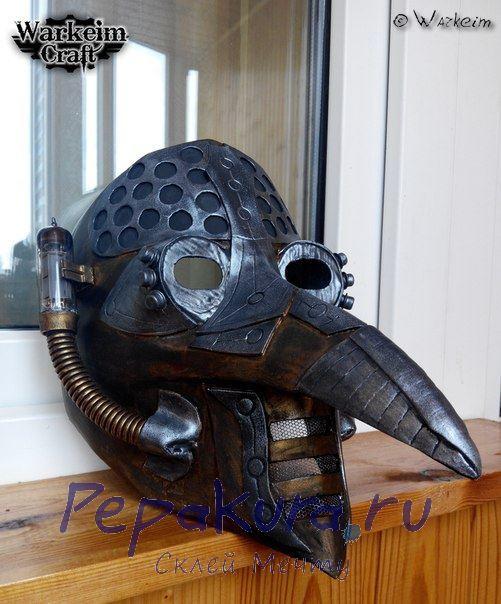 Готовая маска чумного доктора 2