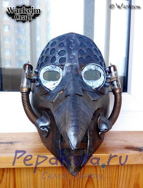 Готовая маска чумного доктора 3