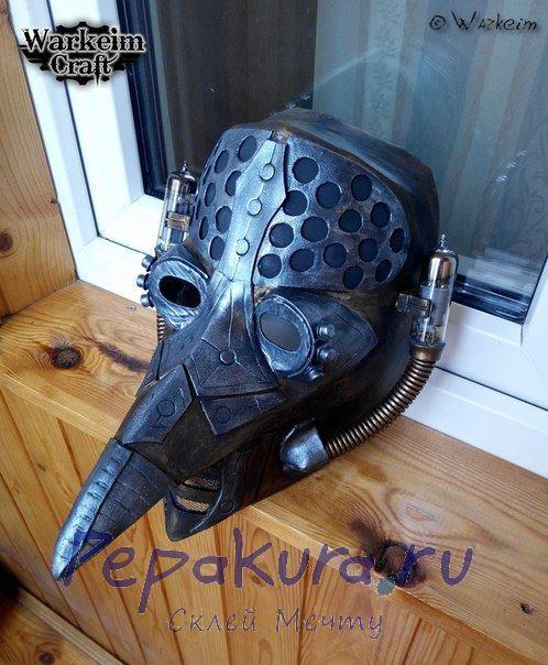 Готовая маска чумного доктора 4