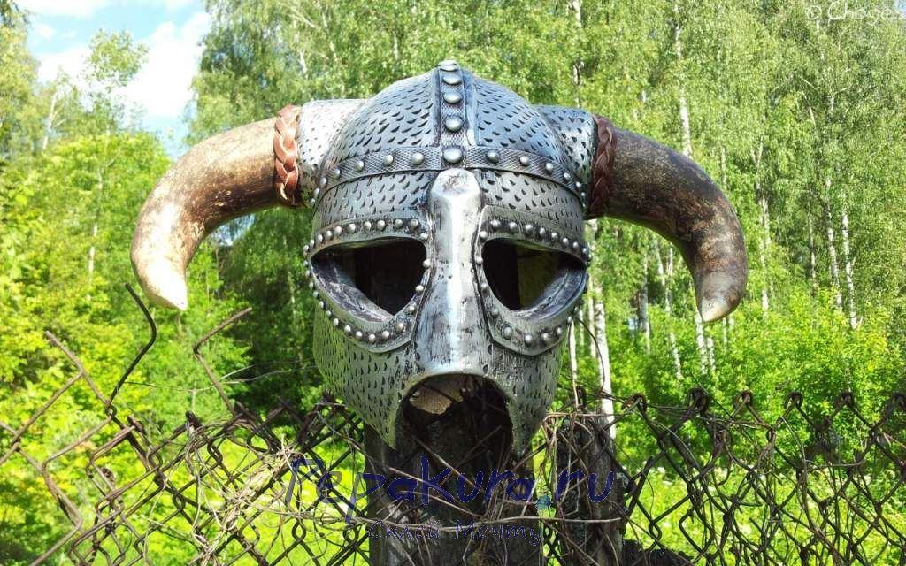 Как сделать шлем Довакина своими руками