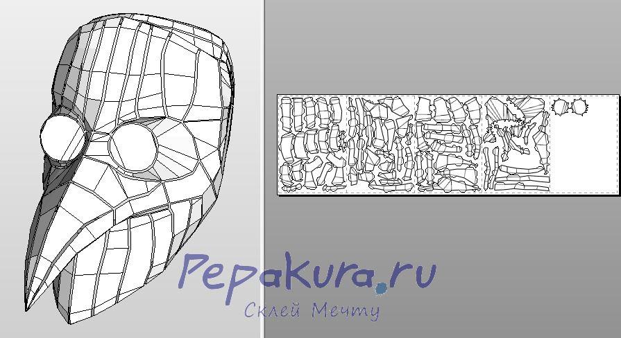 Как сделать pepakura на русском