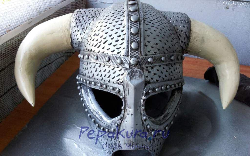 Шлем Довакина доводка текстуры