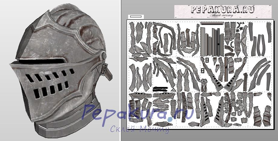 czeshop images medieval knight helmet template