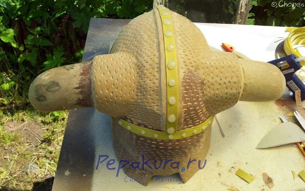 Заклепки на шлем Довакина