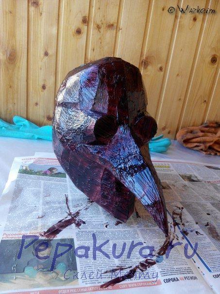 маска чумного доктора укрепление