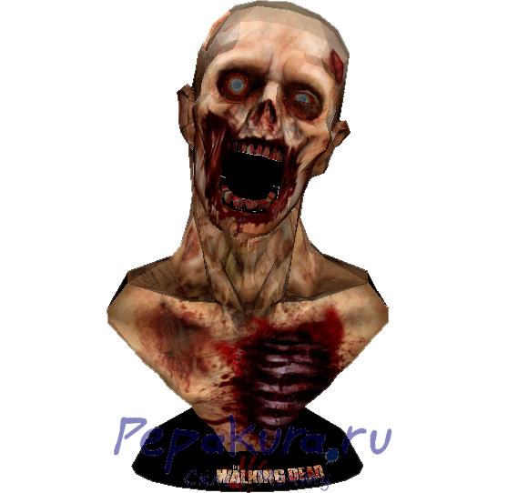 Сделать бюст Зомби своими руками