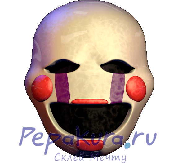 Marionette mask template