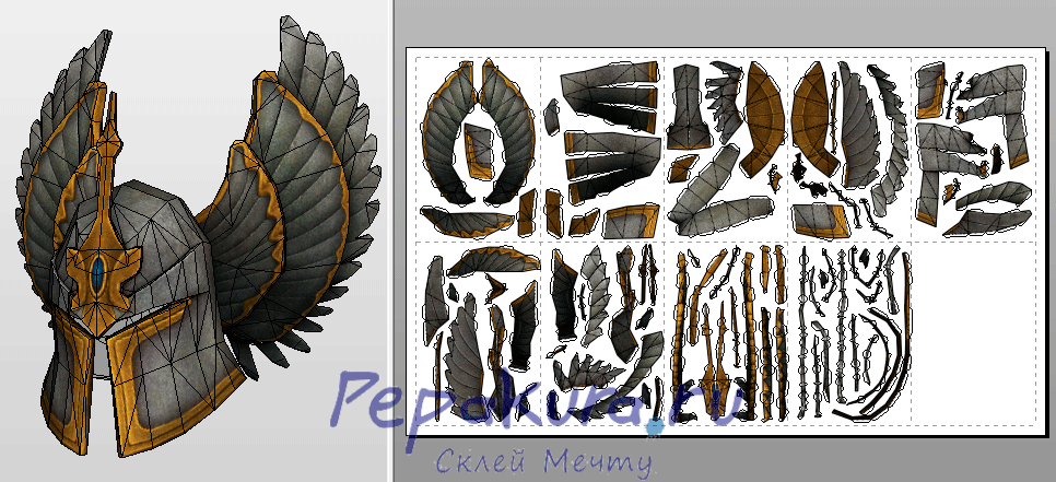 Winged Helm pdo template