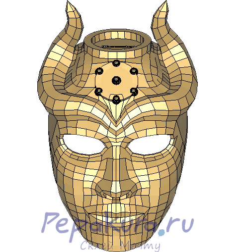Sons of the Harpy mask pdo papercraft