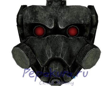 Сделать маску Цербера из бумаги