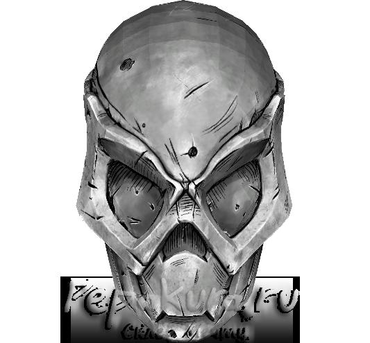 Схема маски Отчуждения Зеро скачать