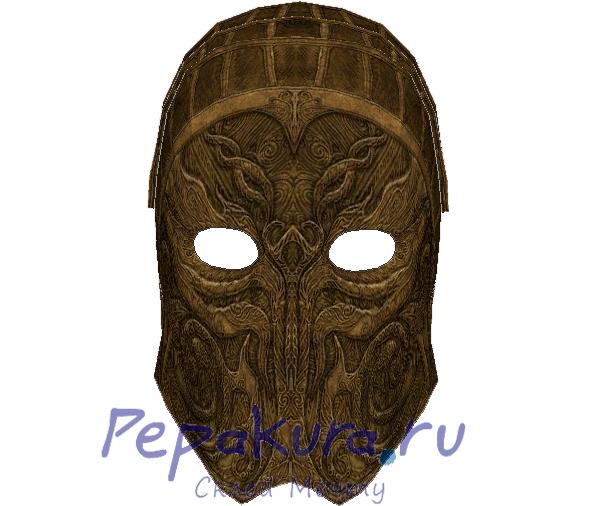 Скачать схему маски Малика из бумаги