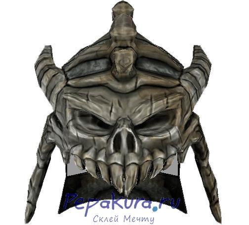 Модель шлема Парень с пушкой скачать