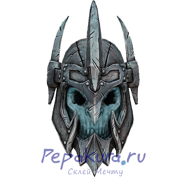 Download Ghul helmet template