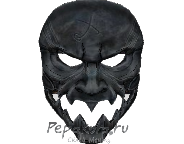 Elite Hunter mask papercraft template