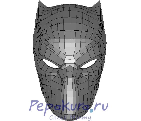 Схема Шлем Черной Пантеры пдо