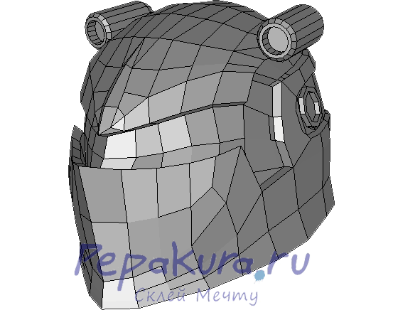 Схема шлема Ночного Всевидящего скачать