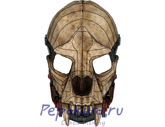 Сделать маску Хранителя из бумаги
