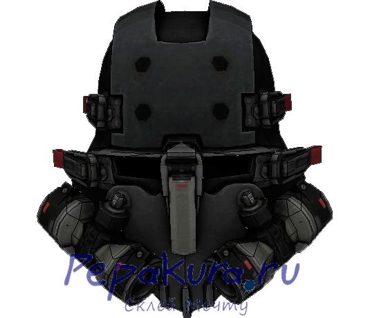 Схема шлема штурмовика из Вульфенштейн