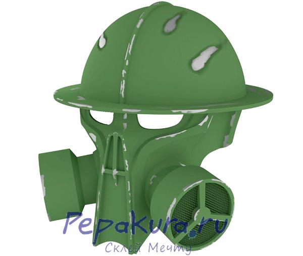 Steampunk Helmet pdo papercraft
