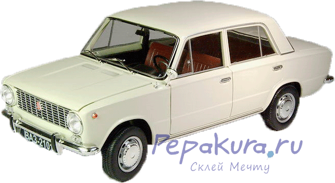 развертка Жигули ВАЗ-2101