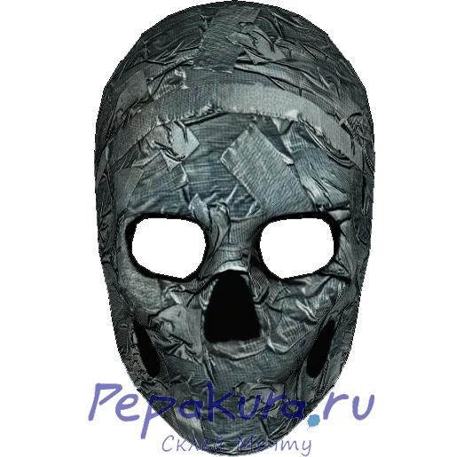 Схема маски Джимми из бумаги пдо