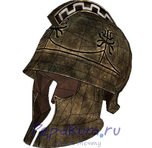 Фракийский шлем из бумаги
