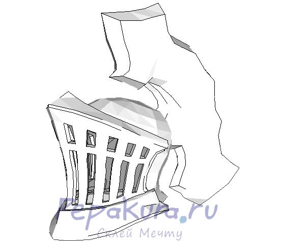 Шлем Хавела Скалы из бумаги