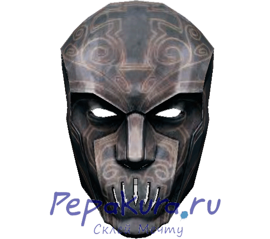 Aristocrat mask Dishonored pdo papercraft