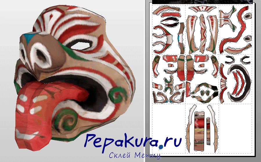 Toa Mask pdo papercraft